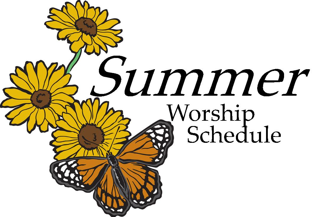 New Summer Worship Schedule Intro Photo