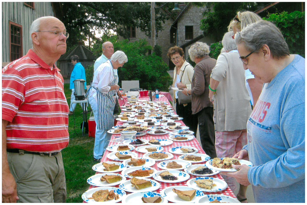 Annual Pie and Ice Cream Music Concert at Historic LeDuc Sunday, August 14 Intro Photo