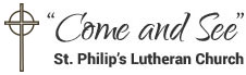 St Philip's Lutheran Church, Hastings MN Logo